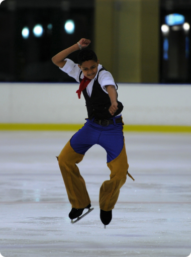 Matthew Sameuls in action at the championships.