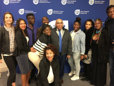 MEC Fritz with youth