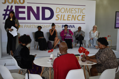Minister Fernandez at #EndDomesticSilence launch