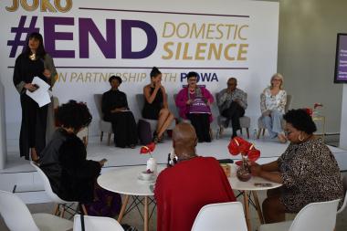 Minister Fernandez at #EndDomesticSilence launch
