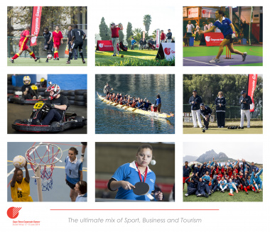 The Cape Town Corporate Games will take place between 5 and 8 June 2014.