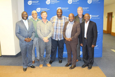 Members of the Western Cape Provincial Geographical Names Committee
