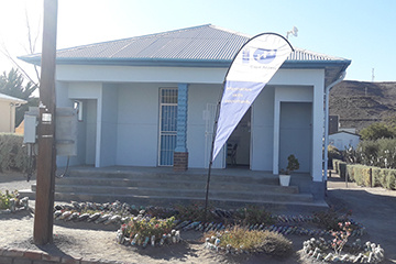 The Merweville e-Centre is located at 44 Voortrekker Road.