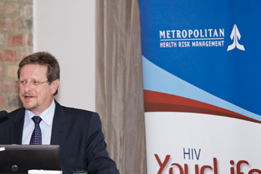 Minister of Health Theuns Botha welcomed the opportunity to partner with the private sector to implement his department's Medical Male Circumcision programme.