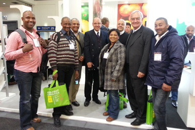 Minister Van Rensburg and Empowerment Farmers