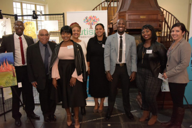 Minister Albert Fritz and the Autism Western Cape Team