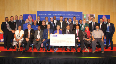 Minister Anroux Marais handed funding cheques to 49 different Cape Town-based sports federations on Wednesday night.