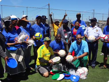 Khayelitsha Street Soccer and Netball Inspires Young People