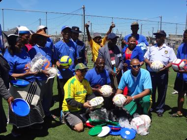 Khayelitsha Street Soccer and Netball Inspires Young People