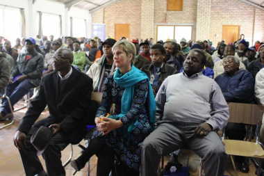 Minister Marais listened to specific concerns raised by participants