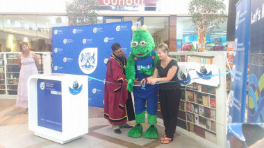 Minister Marais, Mayor Patrick Bok and Bhuki officially Launch National Library Week