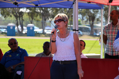 Minister Marais welcomed everyone to the Better Together Games