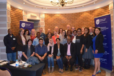 Minister Marais with HWC members and staff