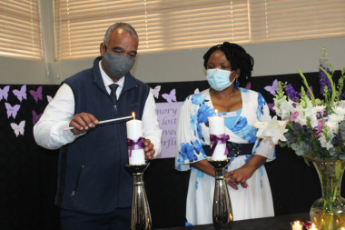Dr Nomafrench Mbombo, and Mr Griffiths