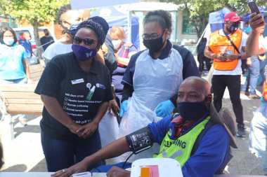 Minister Mbombo encourages men to prioritise their health