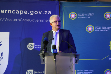 The Minister of Economic Opportunities, Alan Winde shared the vision behind the unveiling