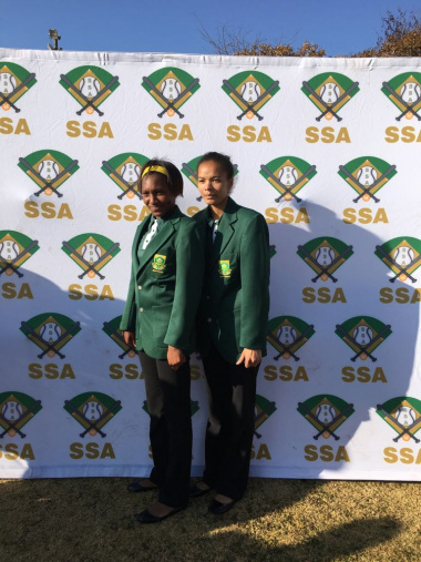 DCAS MOD programme equipped Grivonne Rhode and Chesterney Fortune from Lavender Hill High School to represent SA in the USA