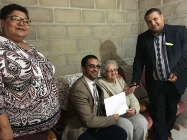 Blue downs resident receive title deeds