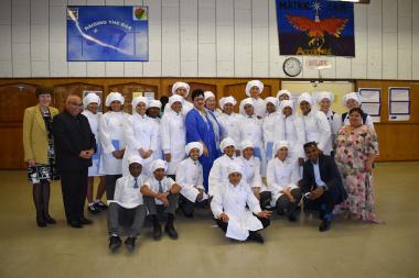 Muizenberg openig of the school kitchen