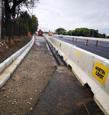 Roadworks on the N1
