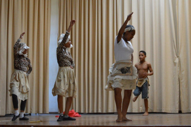 Net vir pret invested in the culture of the Khoi at the Eden Drama Festival