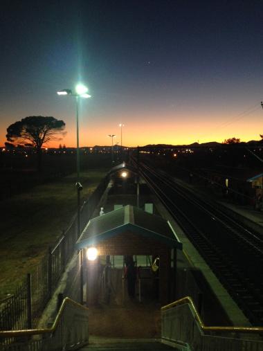 New High Mast Lighting at Eikenfontein Station