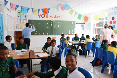 The new multi-purpose classroom at West End Primary School