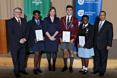 Top three winners Essay Writing Competition