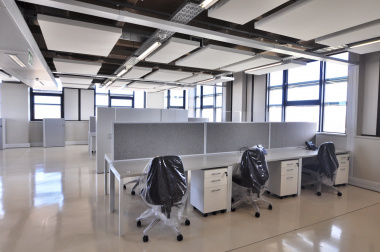 Office spaces are comfortable and well designed.