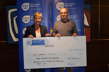 Old Harbour Museum received annual funding from DCAS at the Museum Symposium in Cape Town