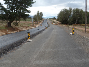 One-way traffic flow will be possible during construction.