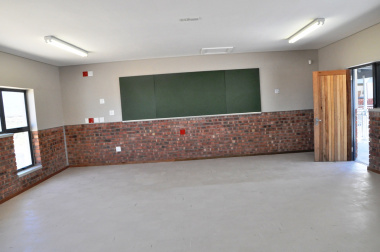 One of the classrooms.