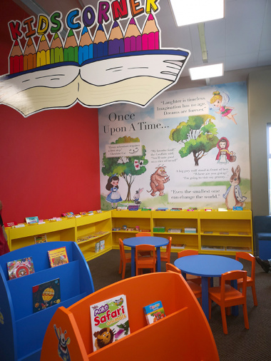 One of the spaces at the early childhood centre