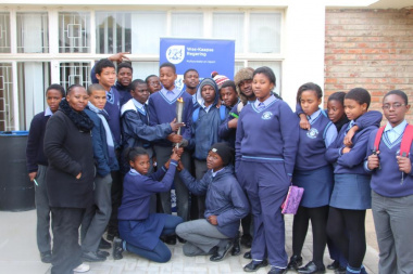 Oudtshoorn learners at the Road to Albertinia event