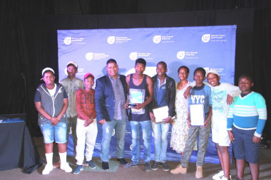 'Our Hope', runners-up at the 2016 Cape Winelands Drama Festival finale