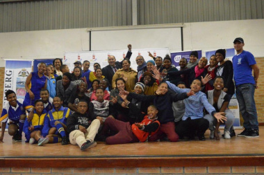 Overall winners at the Overberg Drama Festival