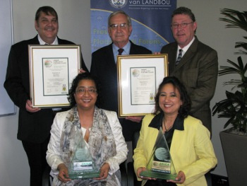 Western Cape Department of Agriculture Crowned as Best Department in South Africa