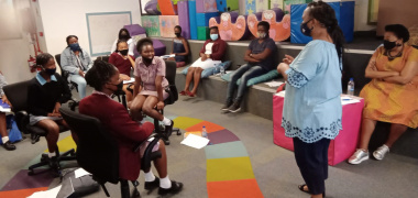 DCAS hosted a Social Cohesion Community Conversation at the Harare Library in Khayelitsha on Friday.