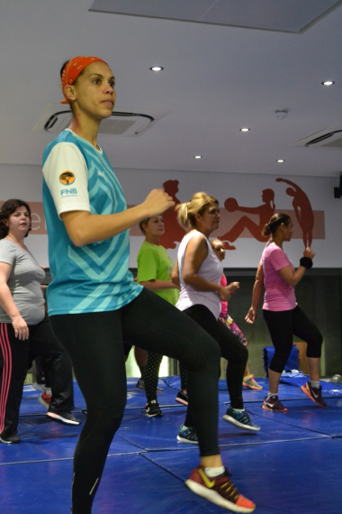 Participants did a variety of aerobic exercises