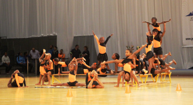 Participants from Langa representing the Western Cape.