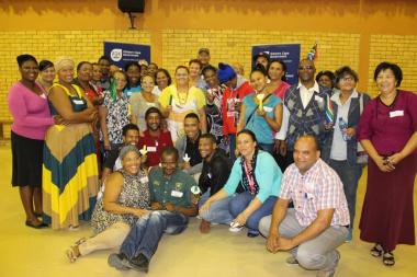 Participants from Malmesbury at the Wesbank Community Hall