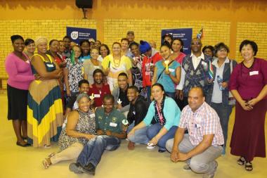 Participants from Malmesbury at the Wesbank Community Hall