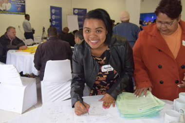 Participants pledged their individual contributions towards social transformation
