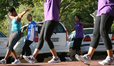 People are encouraged to adopt healthy lifestyles together.