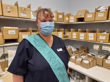 Pharmacist Charmaine Thiart