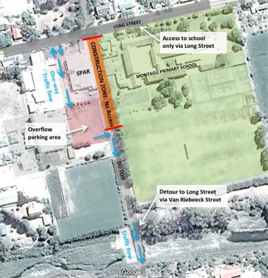 Phase 2 of Du Toit Street stormwater installation