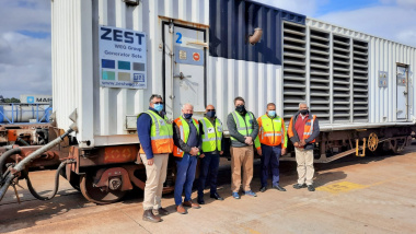 Premier Alan Winde and Minister David Maynier visit Belcon Terminal