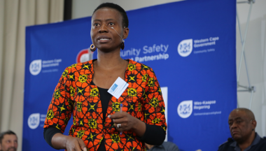 Ms Matodzi Amisi, addresses the attendees during one of the plenary sessions.
