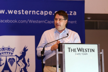 Minister David Maynier at the second Port of Cape Town stakeholder workshop