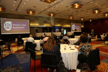Attendees at the second Port of Cape Town stakeholder workshop